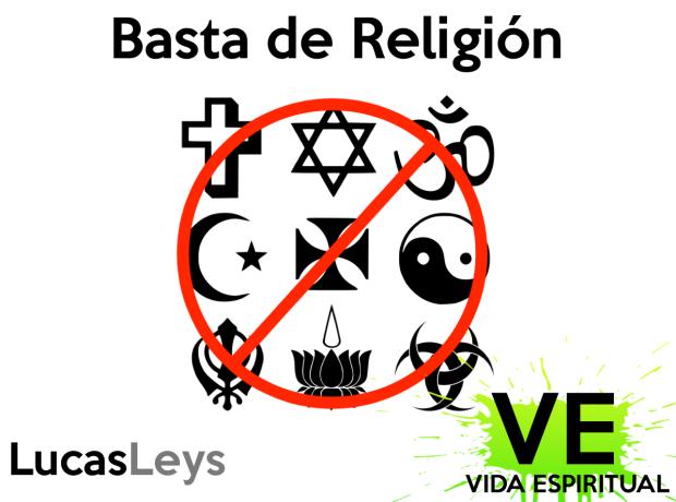 basta de religion