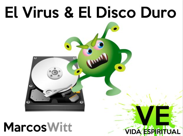 el virus y el disco duro